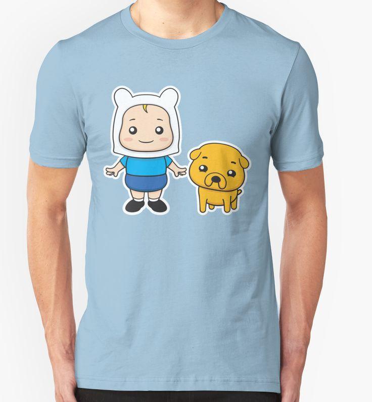 Adventure kids Finn and Jake by enriquev242 #finn #jake #finnthehuman #jakethedog #dog #pet #kid #boy #cute #cartoon #vector #adventuretime #puppy #vectorart #prints #redbubble #tshirt