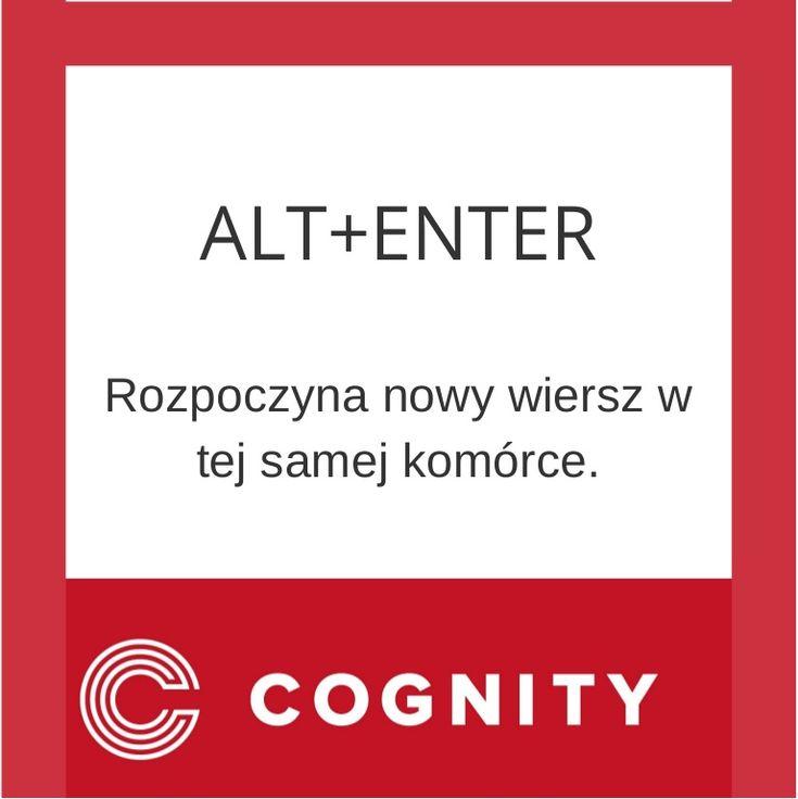 Skrót Excel, www.cognity.pl