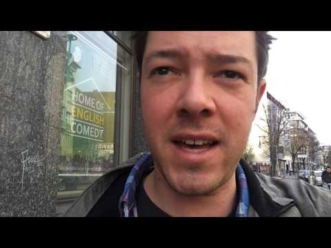 Berlin Kookaburra Comedy Club, da bin ich!