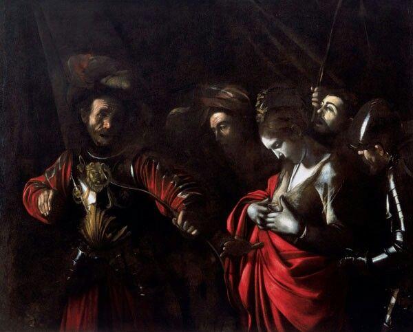 Michelangelo Merisi da Caravaggio   Martirio di sant'Orsola, 1610