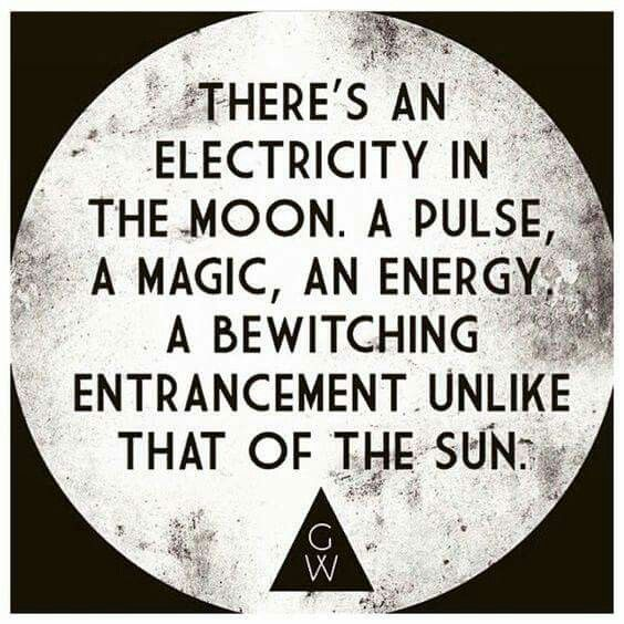 Exactly - moon child