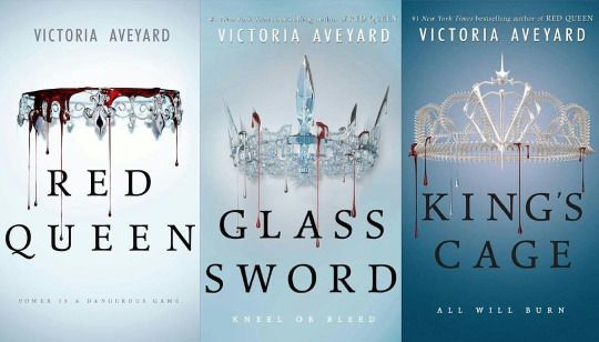 Victoria Aveyard collection! Squad going up on a Tuesday!   The Red queen