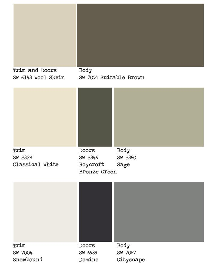 1000 Ideas About Exterior Color Schemes On Pinterest