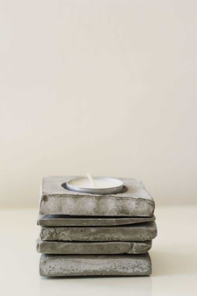 DIY Cement Coasters — myLifebox Designs & Creative Business