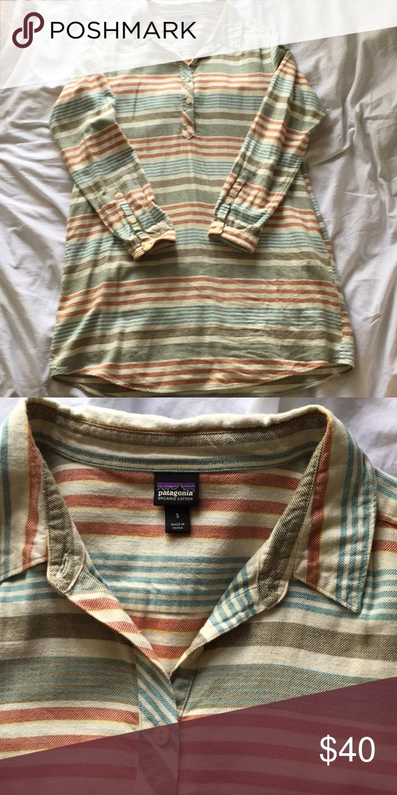 100% Cotton Patagonia Dress This is a warm, long sleeve, 100% organic cotton dress from Patagonia. This is from 2016, worn only a handful of times. Very soft fabric, perfect for the fall and winter. Runs a little large. Patagonia Dresses Midi