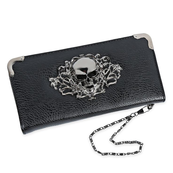 $9.16 (Buy here: https://alitems.com/g/1e8d114494ebda23ff8b16525dc3e8/?i=5&ulp=https%3A%2F%2Fwww.aliexpress.com%2Fitem%2FHip-Hop-Women-Long-Wristlet-Purses-Zipper-Metal-Frame-Skull-Purse-Leather-Clutch-Wallet-With-Hand%2F32779679968.html ) Hip Hop Women Long Wristlet Purses Zipper Metal Frame Skull Purse Leather Clutch Wallet With Hand Chain Card Phone Holder for just $9.16