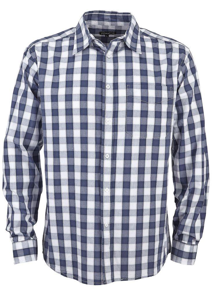 Klassinen ruutupaita toimii! NetAnttila - HENRY'S Henry's miesten paita | Miesten vaatteet