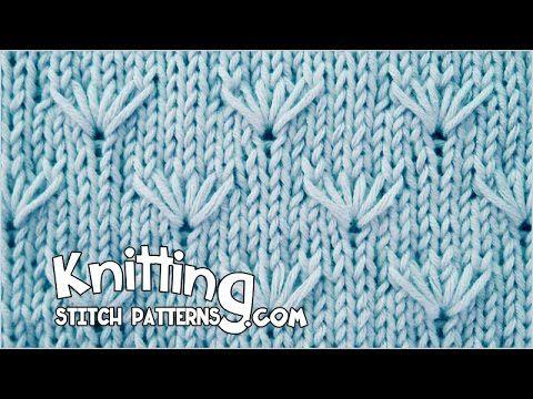 Zig Zag Lace Knitting - YouTube