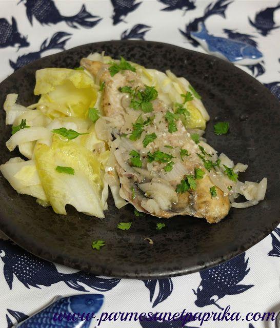 Maquereaux échalotes, cuisson au four