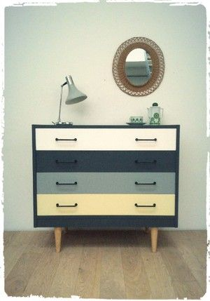 grande commode vintage revisit e r novation meuble pinterest meubles commodes et relooker. Black Bedroom Furniture Sets. Home Design Ideas