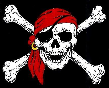 17 mejores ideas sobre Calavera Pirata en Pinterest | Tatuaje ...