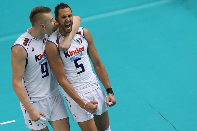 Ivan Zaytsev and Osmany Juantorena (Italy, volleyball)
