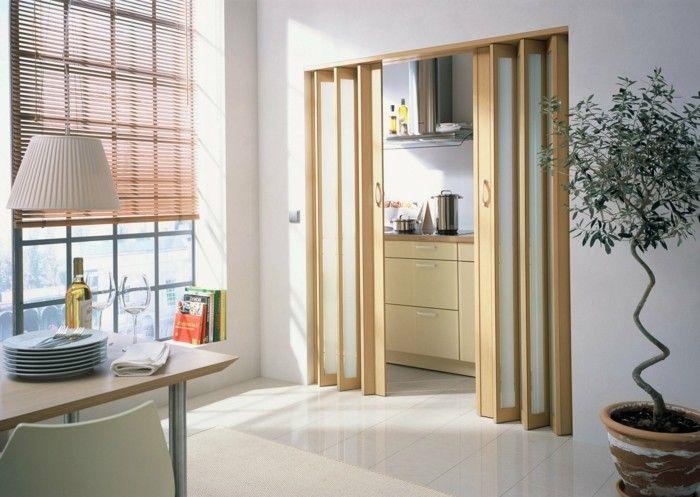 Les portes pliantes design en 44 photos comment and merlin - Leroy merlin cloisons amovibles ...
