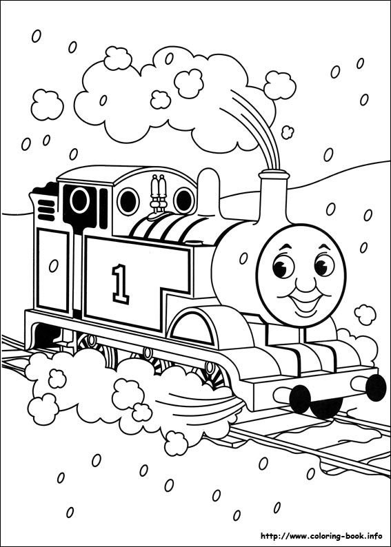thomas the tank engine coloring pages - Thomas And Friends Coloring Pages
