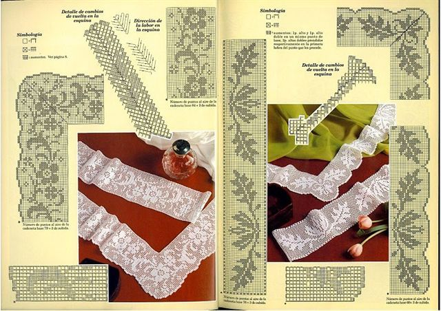 Victoria - Handmade Creations : Σχέδια για υπέροχες δαντέλες με βελονάκι