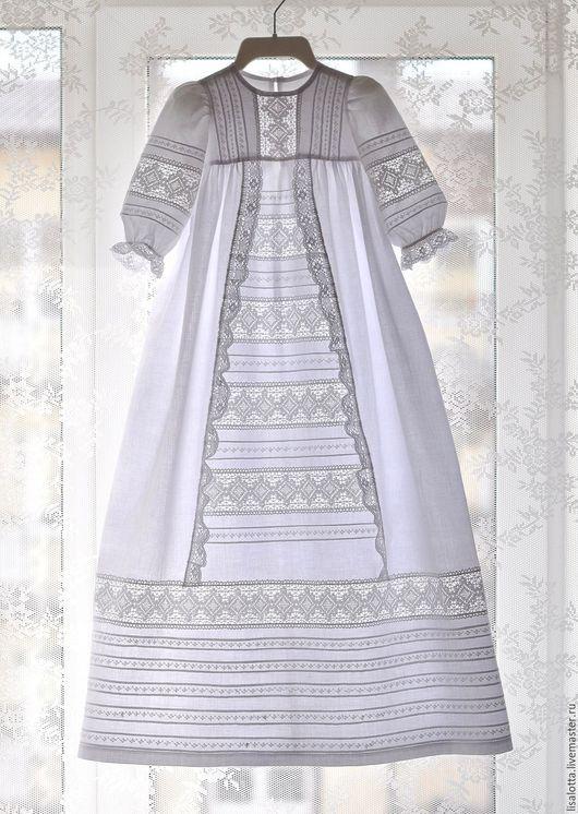 Крестильное платье для девочки, Крестильный комплект, Крестильное платье, Крестильный наряд, Наряд для крещения, Одежда для крещения, Крестильное, Крестины, На крестины, Для крещения