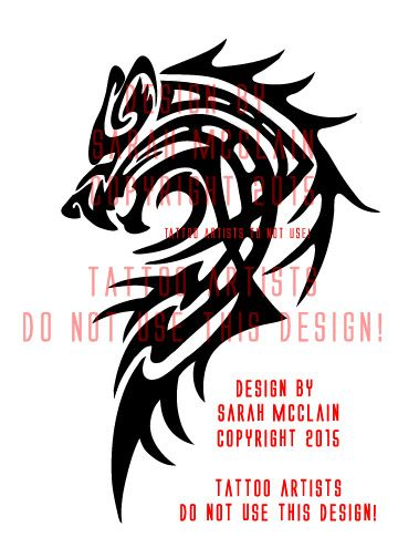 1000 ideas about tribal wolf tattoos on pinterest