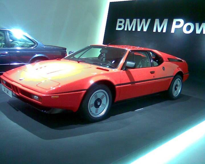 BMW M1, BMW museum Munchen