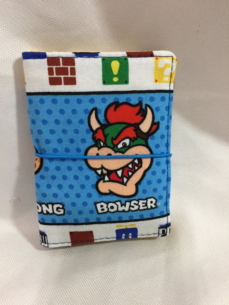 Mario World Character Credit Card/Business Card Holder/Wallet