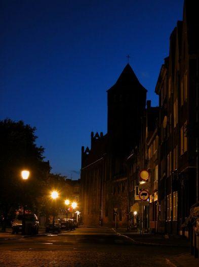 Dominikański #klasztor nocą. #dominikanie #gdańsk #gdn