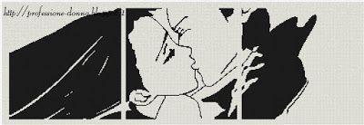 Professione Donna: Schema punto croce: Innamorati_5 (trittico)