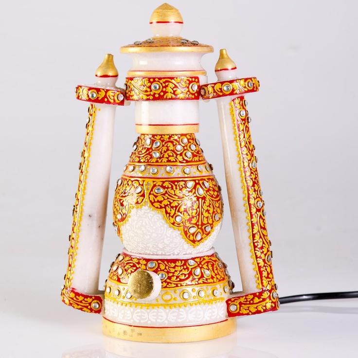 The Glowing Marvel - Marble Lantern - Matrimony Gifts