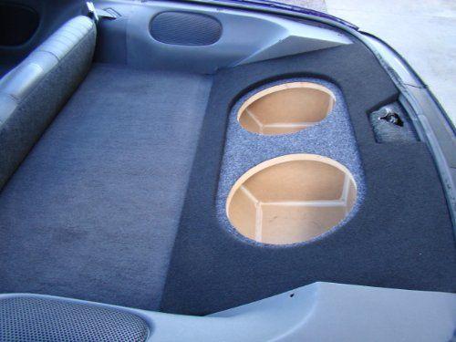 "Zenclosures 1993-2003 Camaro or Firebird 2-10"" Subwoofer Box with Recessed Mounting Holes (Type 3). Camaro Subwoofer Box, Firebird Subwoofer Box, trans am Subwoofer Box,."