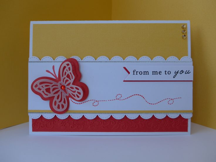 Card I made for Papercraft Essentials commission using the free gift.