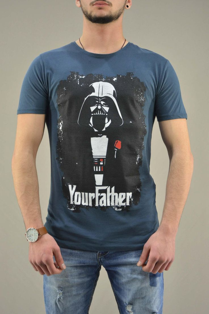 Ανδρικό t-shirt Star Wars Your Father | Άνδρας -