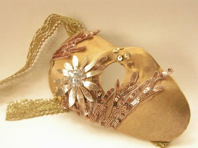 carrie b accessories  www.carrieb.org Golden Half Mask Pic and source www.Abigailk.co.za