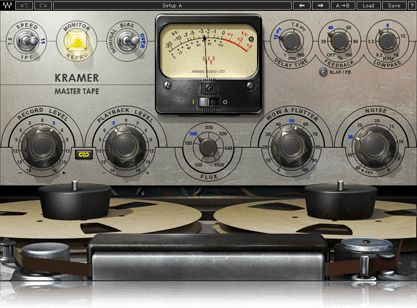 "Developed in association with Eddie Kramer, the Kramer Master Tape plugin is modeled on a a rare vintage 1/4"" reel-to-reel machine."