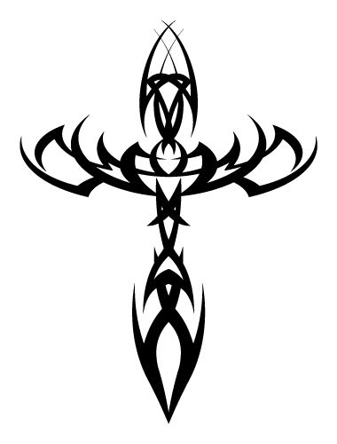 Infinity Tattoo Designs - http://infinitytattoodesigns.com/cross-tattoos/
