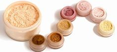 How to make mineral makeup using these simple recipes. Recipes for every skin color.