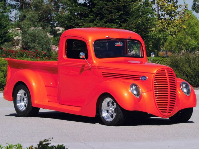 ford pickup trucks | 1938 Ford Pickup Truck Restoration and Photos - Custom Classic Trucks