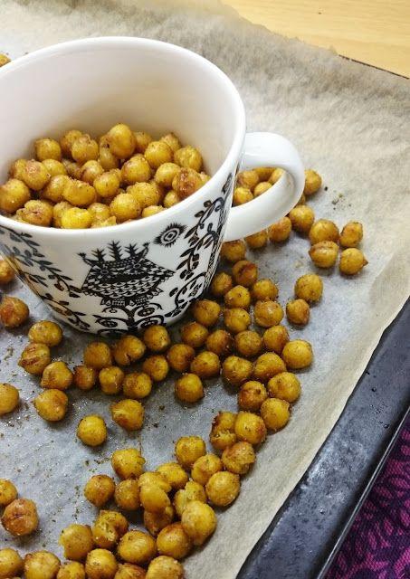 Ruokakonttuuri: Paahdetut kikherneet / Roasted chickpeas