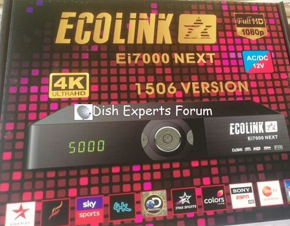 ECHOLINK Ei7000 NEXT Power VU New Software Download | Dish Receivers