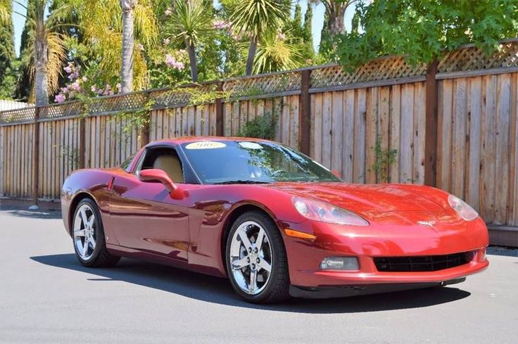 2007 #Chevrolet #Corvette Base 2dr Coupe #Cars - #SanJose, CA at #Geebo