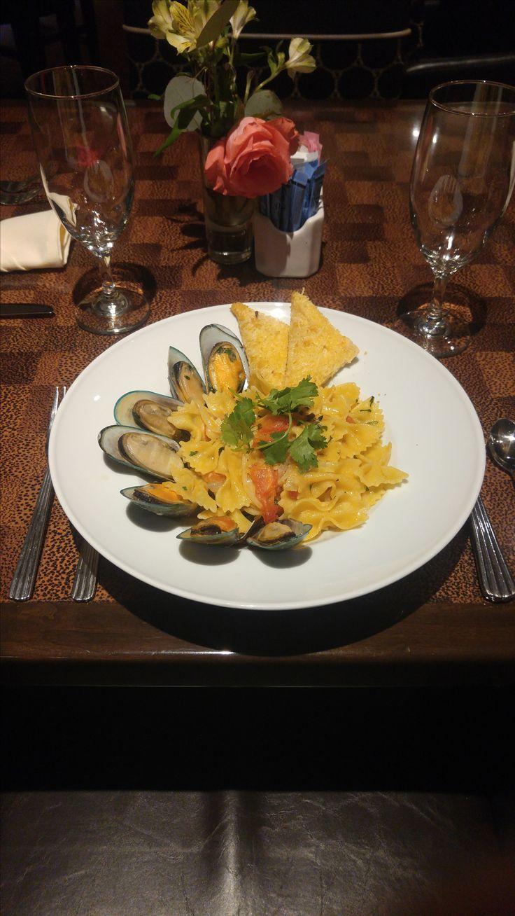 #OvertonHotel #PecanGrill #Lubbock #PastaDishes #SeafoodDishes