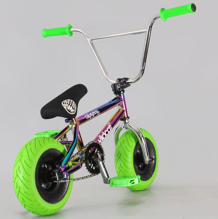 Oil Slick Mini BMX Stunt Bike Wildcat Rocker GGB | eBay