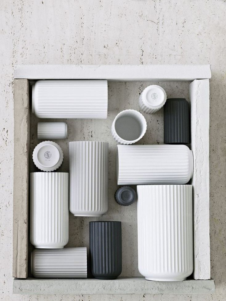 These vases are amaz-ing Danish design from Goods We Love | Remodelista