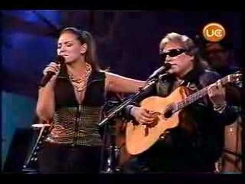 """Josè Feliciano """"Para Decir Adios"""" dueto con  Miriam Hernandez en Viña del Mar 2006."""