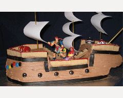 Pirate Ship Cake Recipe - Cakes