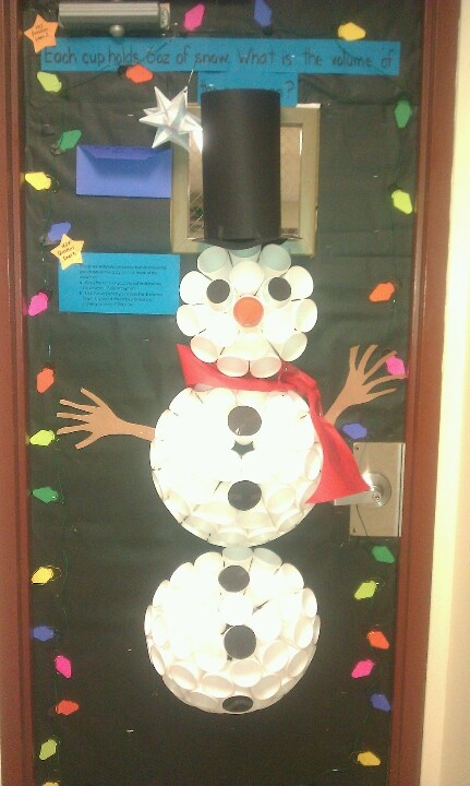 Christmas door decorating contest classroom inspiration pintere