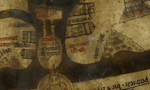 The Hereford Mappa Mundi - Columns of Hercules