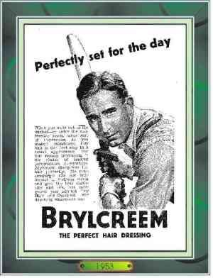 St George's Park - Brylcreem - 1953. That's why cricketers in the past always looked fresh.