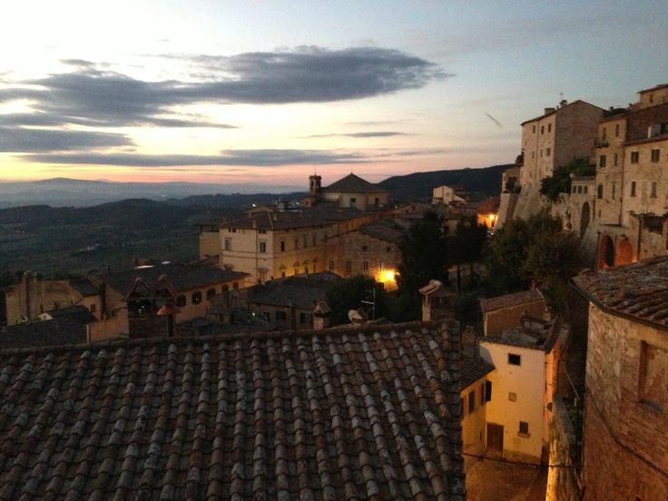 View from all our rooms at #LocandaSanFrancesco, #boutiquehotel in #Montepulciano, #Tuscany