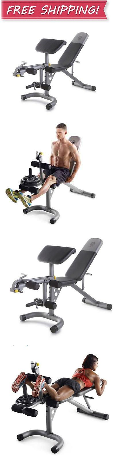 Benches 15281: Golds Gym Olympic Weight Bench Workout Home Gym Exercise Adjustable Incline New -> BUY IT NOW ONLY: $115.95 on eBay!