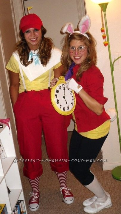 Most Creative Group Costume – Alice in Wonderland!