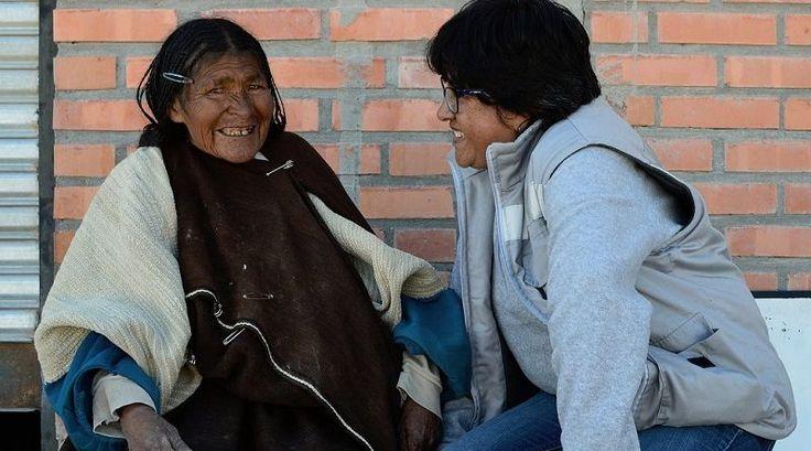 "Sebastiana Kespi, ""tesoro vivente"" della cultura Uru Chipaya"