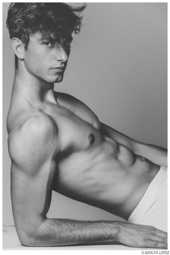 Martin Cheucos is Stripped to Basics for Images by Adolfo Lopez image Martin Chueco Model 2014 Photo Shoot 001